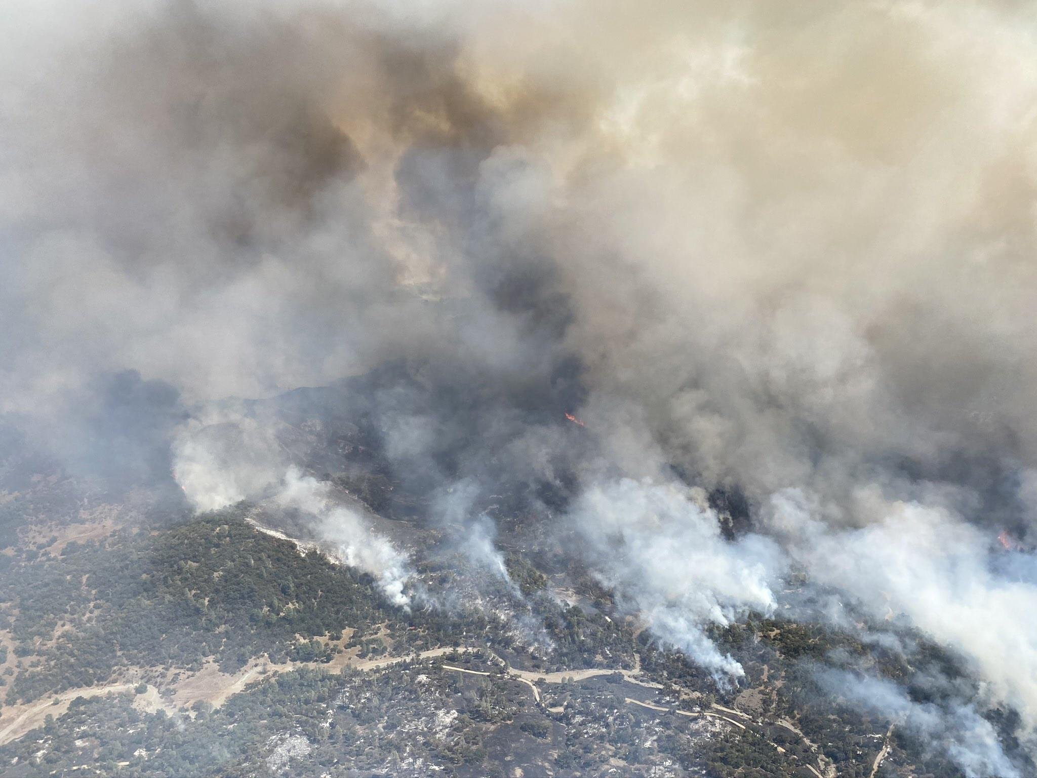 Donations For SCU Lightning Complex Firefighters Appreciated, But Not Needed