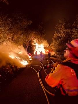 Cal Fire Making Headway On CZU Complex