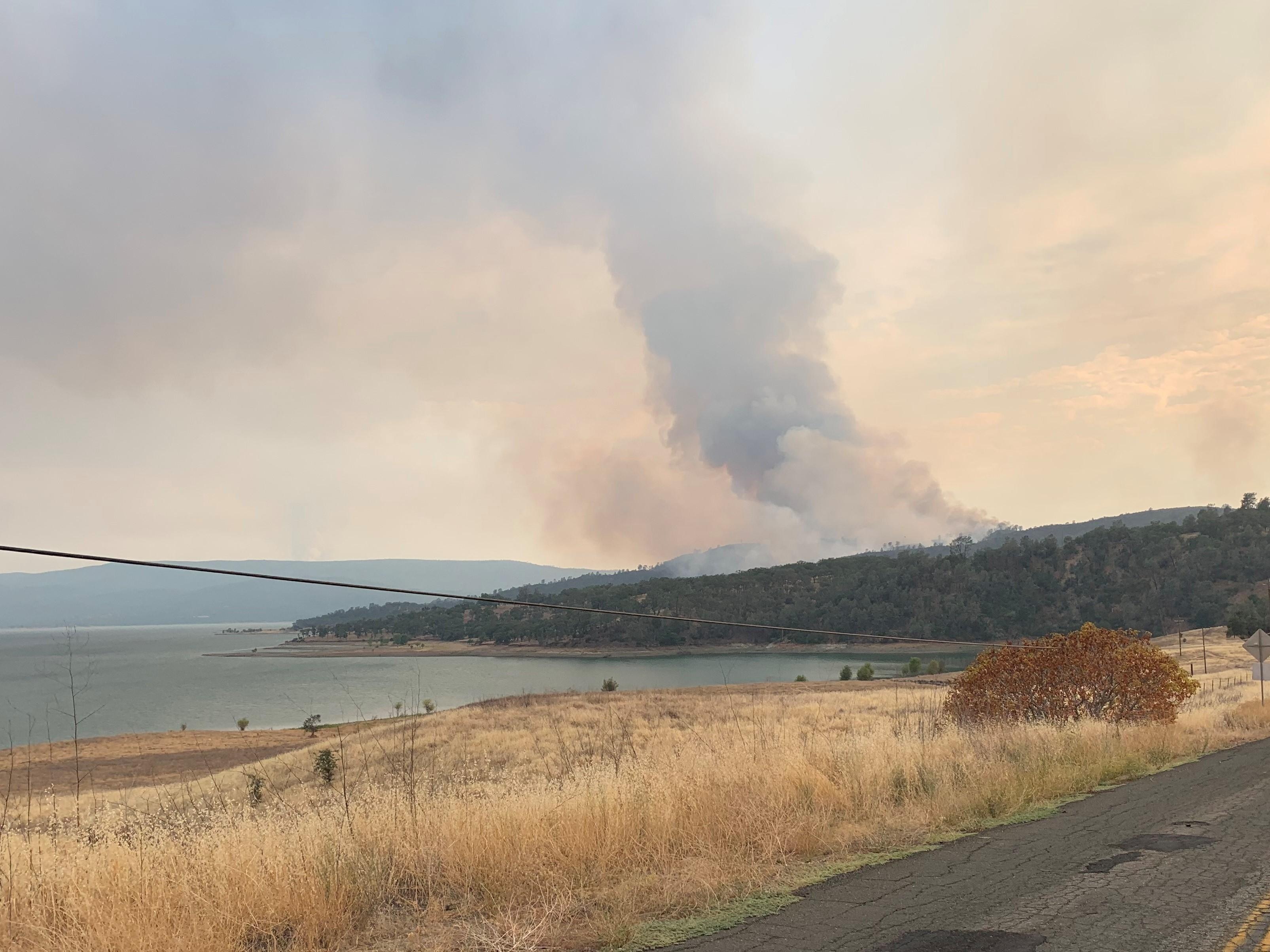 Massive NorCal Wildfires Continue to Grow
