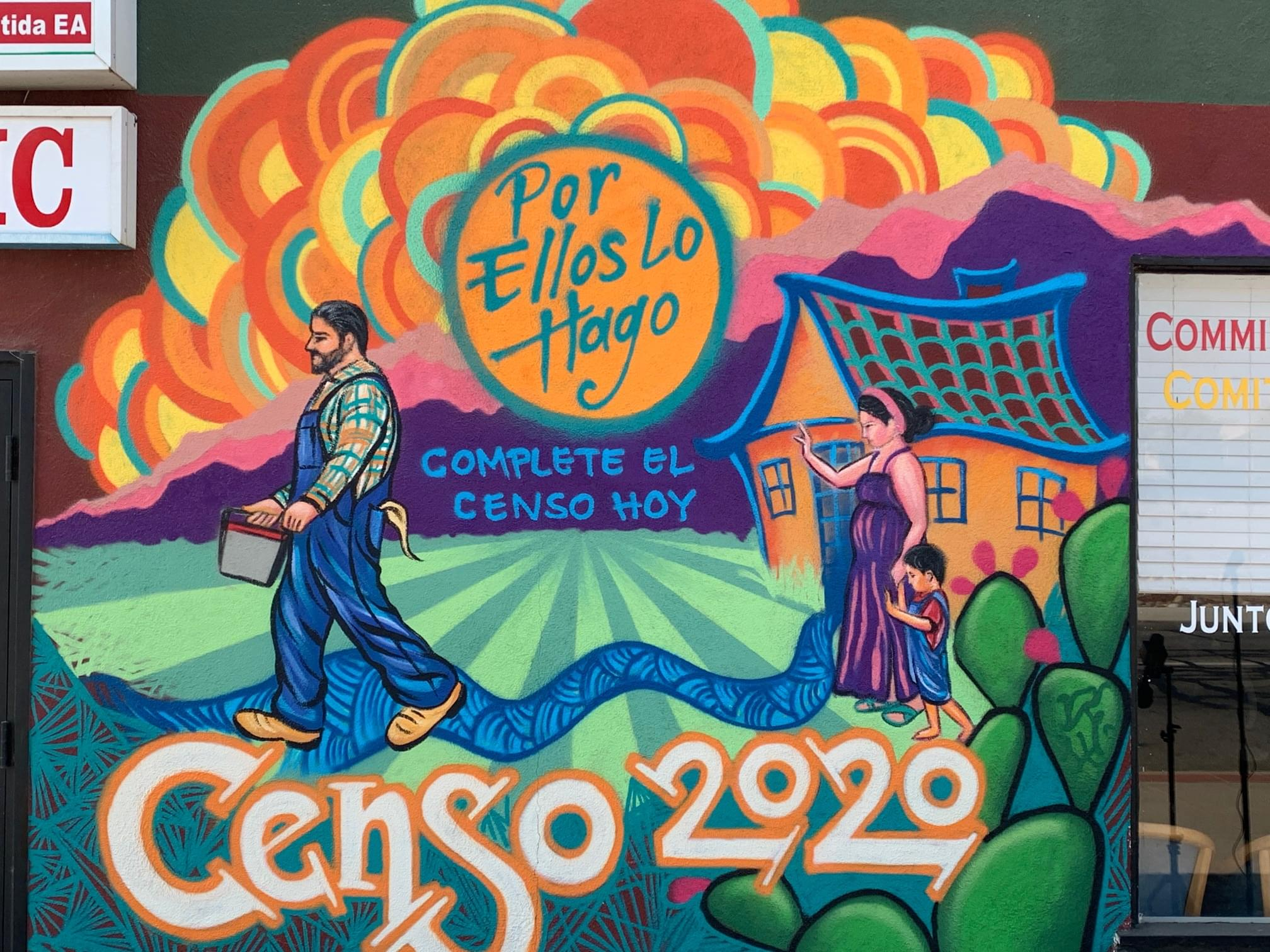 New Mural in Arvin Pushes Residents to Complete Census