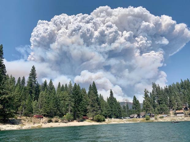 Creek Fire Update