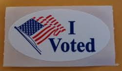 Election Day Today