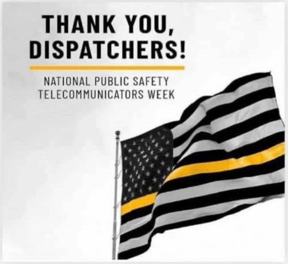 Dispatchers Recognized On National Telecommunicators Week
