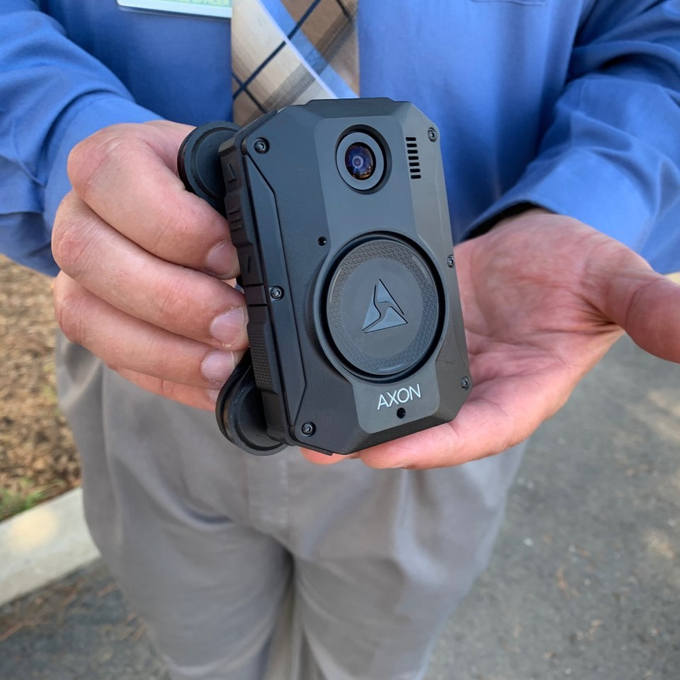 Kern County Sheriff's Office Demonstrates New Body Cameras