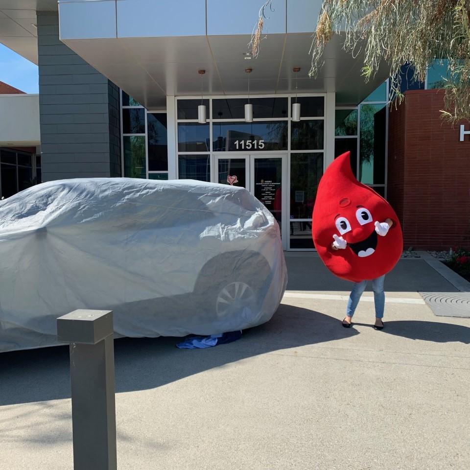 Houchin Blood Bank Giving Away a New Car