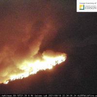 Kern Fire Battling Blaze near Lake Isabella