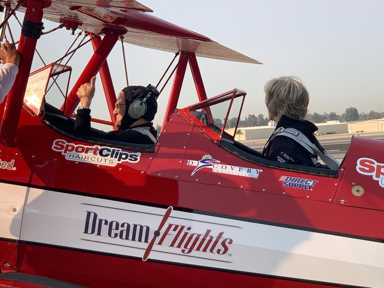 100-Year-Old WWII Veteran Honored with Dream Flights
