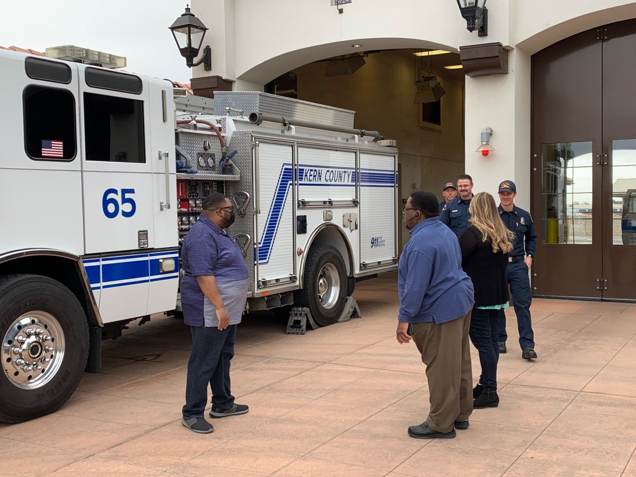 Bakersfield Man Reunited with Kern Firefighters Who Saved His Life
