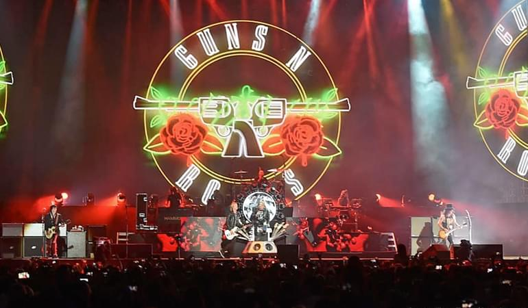 Guns N' Roses Announce Special Guest Openers For Tour