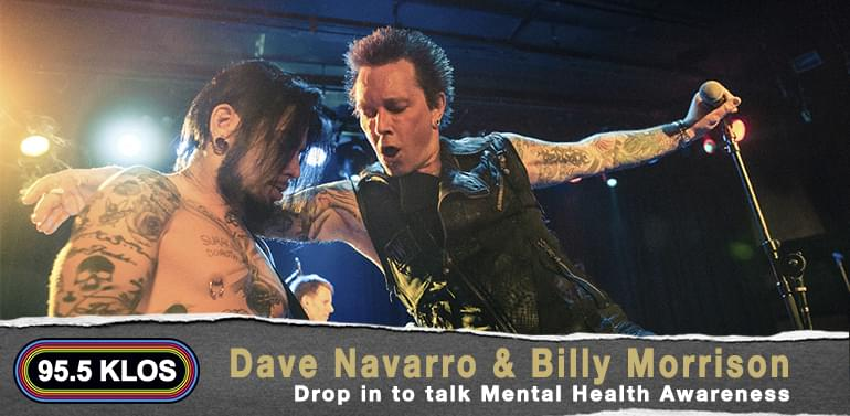 Dave Navarro & Billy Morrison with Marci Wiser