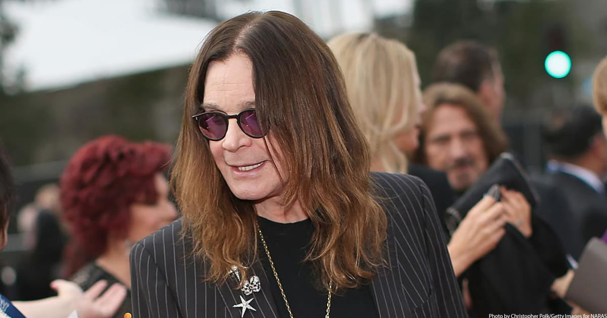 Ozzy Osbourne Says His New Album Is Finished