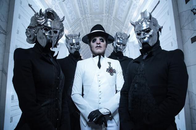 Tobias Forge of Ghost guests on Whiplash Sunday Night!