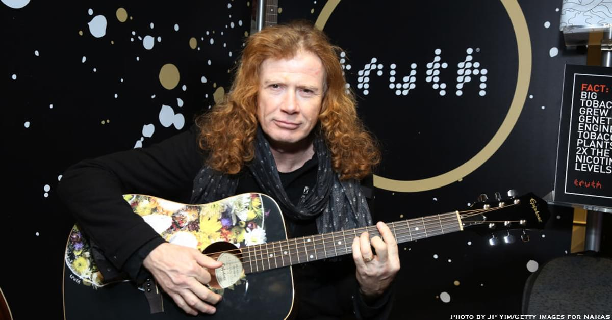 Dave Mustaine Says Doctors are Staying Positive About Cancer Treatment