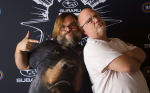 Jack Black & Kyle Gass of Tenacious D from the KLOS Subaru Live Stage