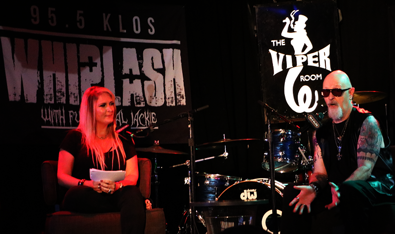 Rob Halford Joins Full Metal Jackie from the KLOS Subaru Live Stage