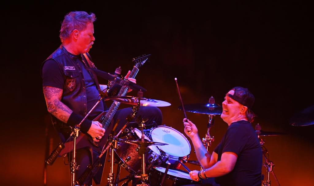 Metallica's Lars Ulrich Says James Hetfield Is 'Healing Himself'