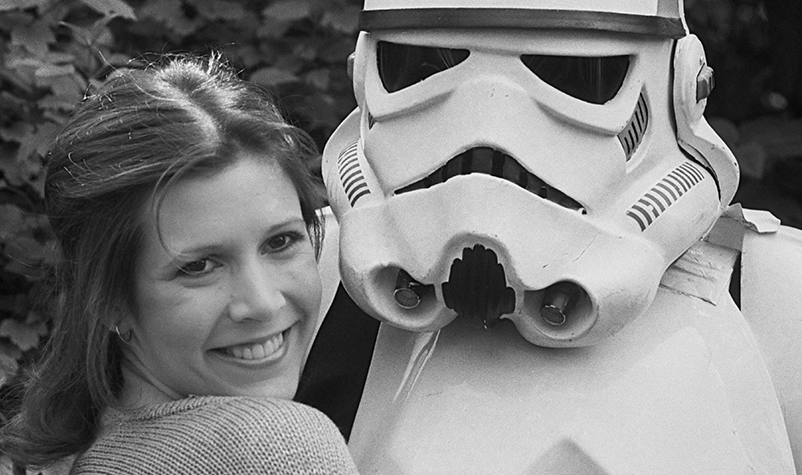 Happy Birthday Carrie Fisher + New Episode 9 Trailer Dropping Today!