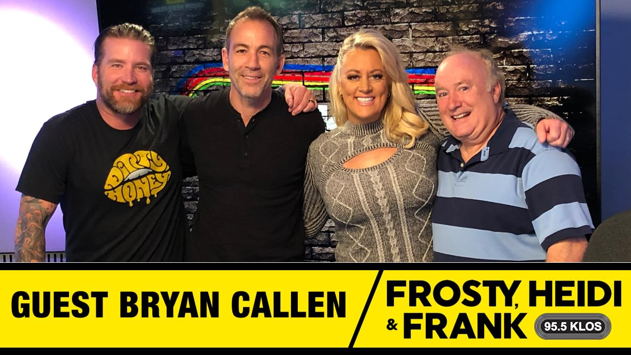 Frosty, Heidi and Frank with guest Bryan Callen