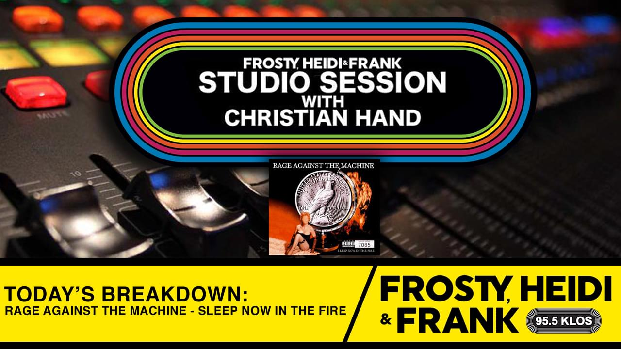 FHF Studio Session With Christian James Hand 11/4/19