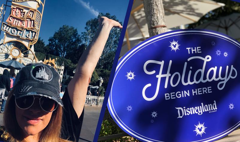 Marci Broadcasts Live from Disneyland!