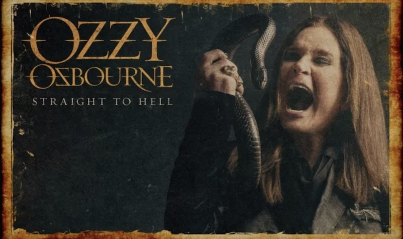 Ozzy Osbourne Releases Teaser for New Song 'Straight to Hell'