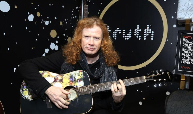 Dave Mustaine Gives Positive Update on Cancer Battle