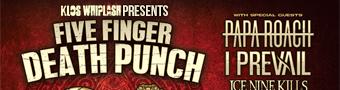 KLOS Whiplash Presents Five Finger Death Punch