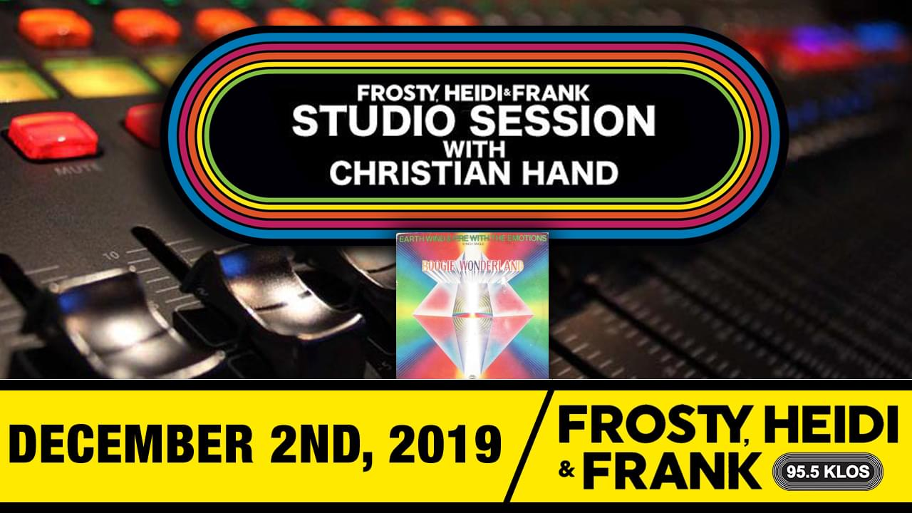 FHF Studio Session With Christian James Hand 12/02/19