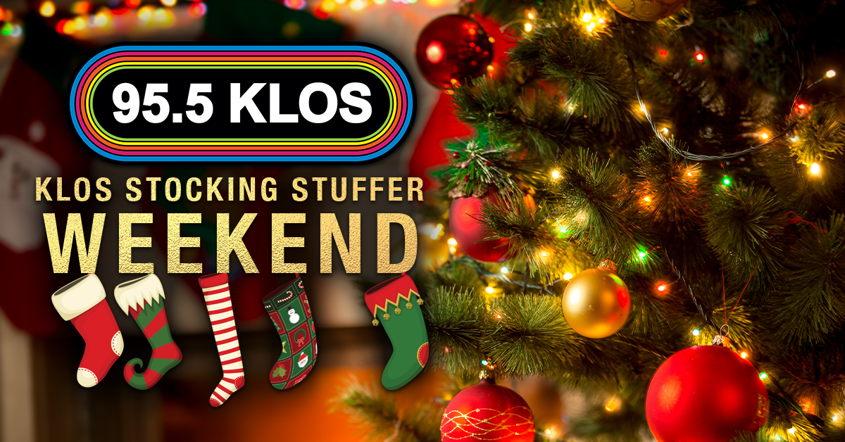 KLOS is stuffing stockings with tickets all weekend!