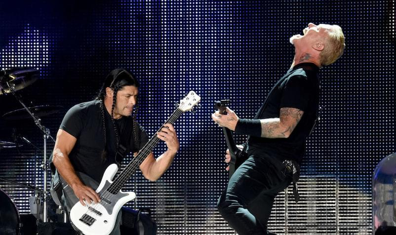 Metallica Lands on Forbes' Top 10 List of Highest-Earning Artists of 2019