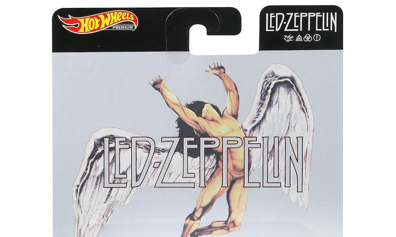 Led Zeppelin Releasing Hot Wheels Car Collection