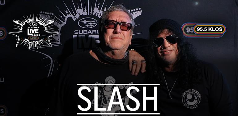 Slash Speaks On How He Started Playing Guitar + Reminisces on His Rock History | Subaru Live Stage