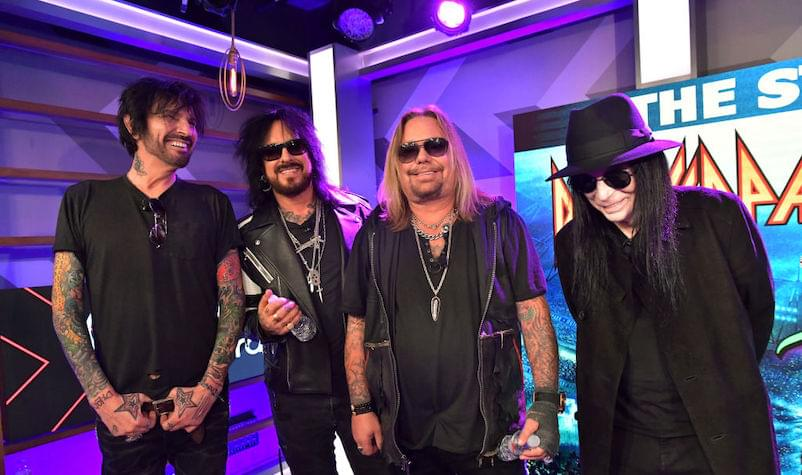 Mötley Crüe Acknowledges the Amount of Sacrifice the Stadium Tour Requires
