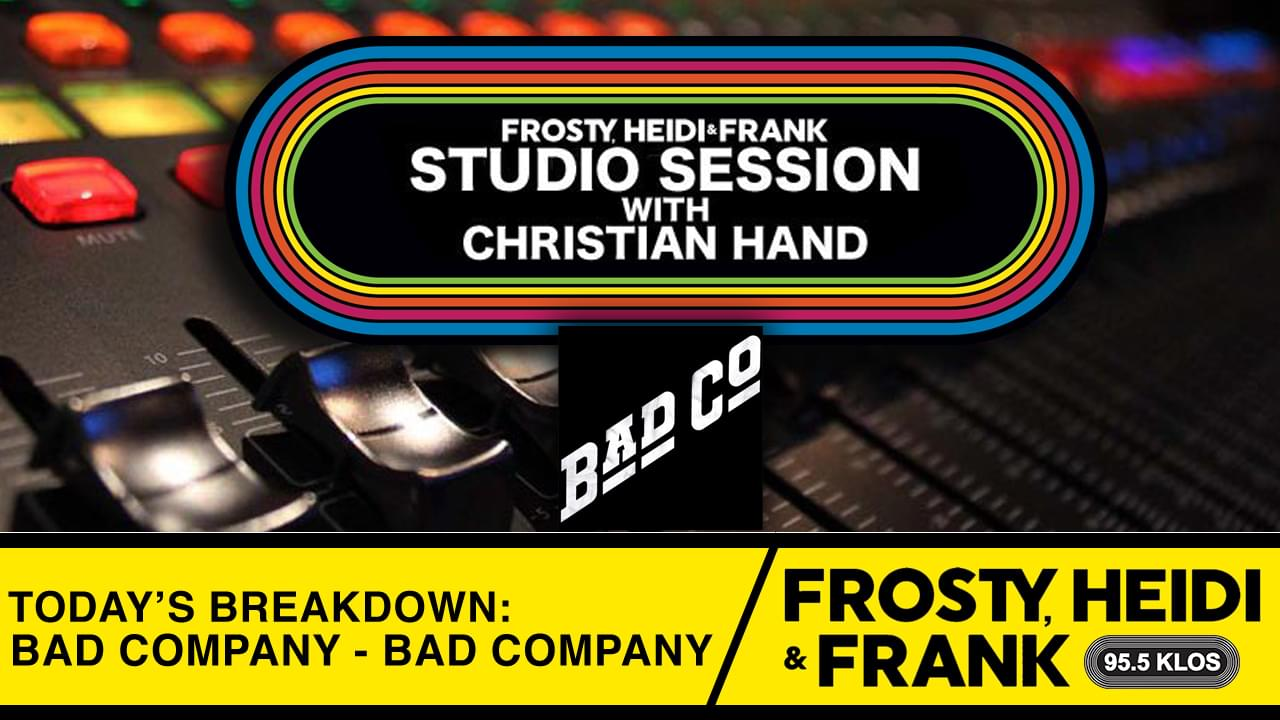 FHF Studio Session With Christian James Hand 1/6/20