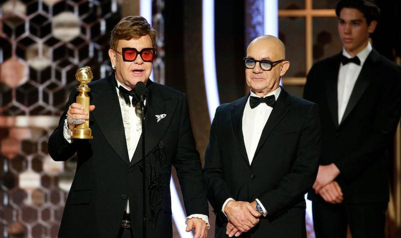 Elton John's 'Rocketman' Wins Two Golden Globe Awards