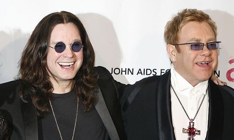 Ozzy Osbourne and Elton John Are Creating Music Together