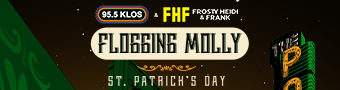Frosty, Heidi & Frank's St. Patty's Day Festival with FLOGGING MOLLY!