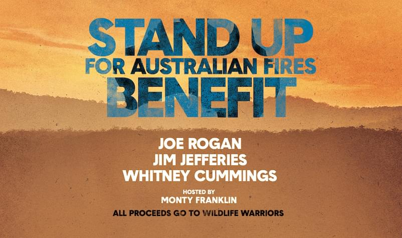 STAND UP for Australia Fires Benefit ft. Joe Rogan, Jim Jeffries, Whitney Cummings
