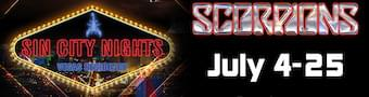 Scorpions Residency in Vegas