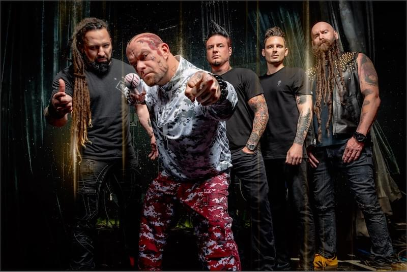 Zoltan Bathory of Five Finger Death Punch on Whiplash This week!