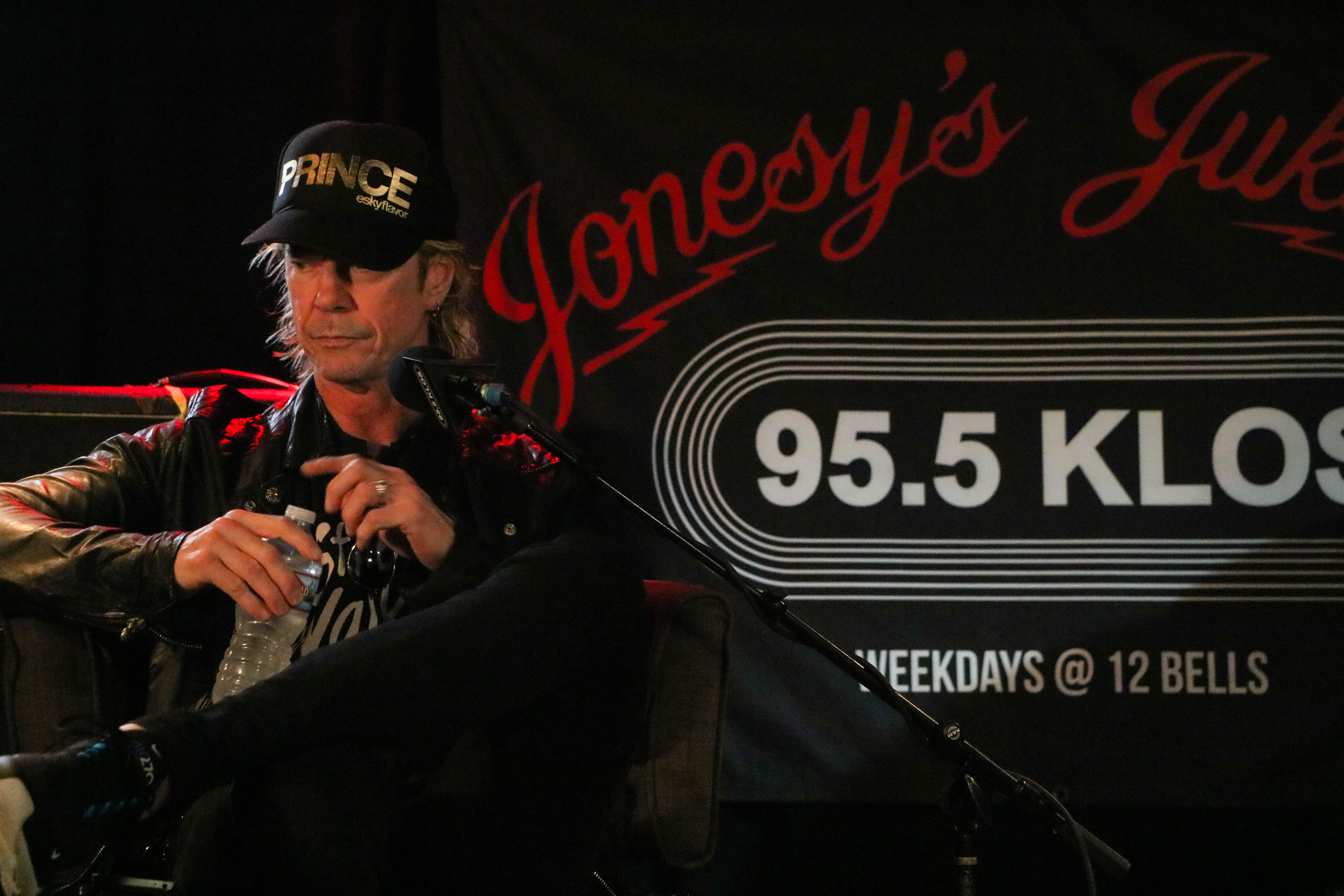 Duff McKagan on the KLOS Subaru Live Stage