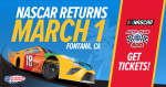 Win Tickets to NASCAR at the Auto Club Speedway!