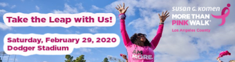 Susan G. Komen's MORE THAN PINK Walk