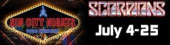 Scorpions Residency in Vegas