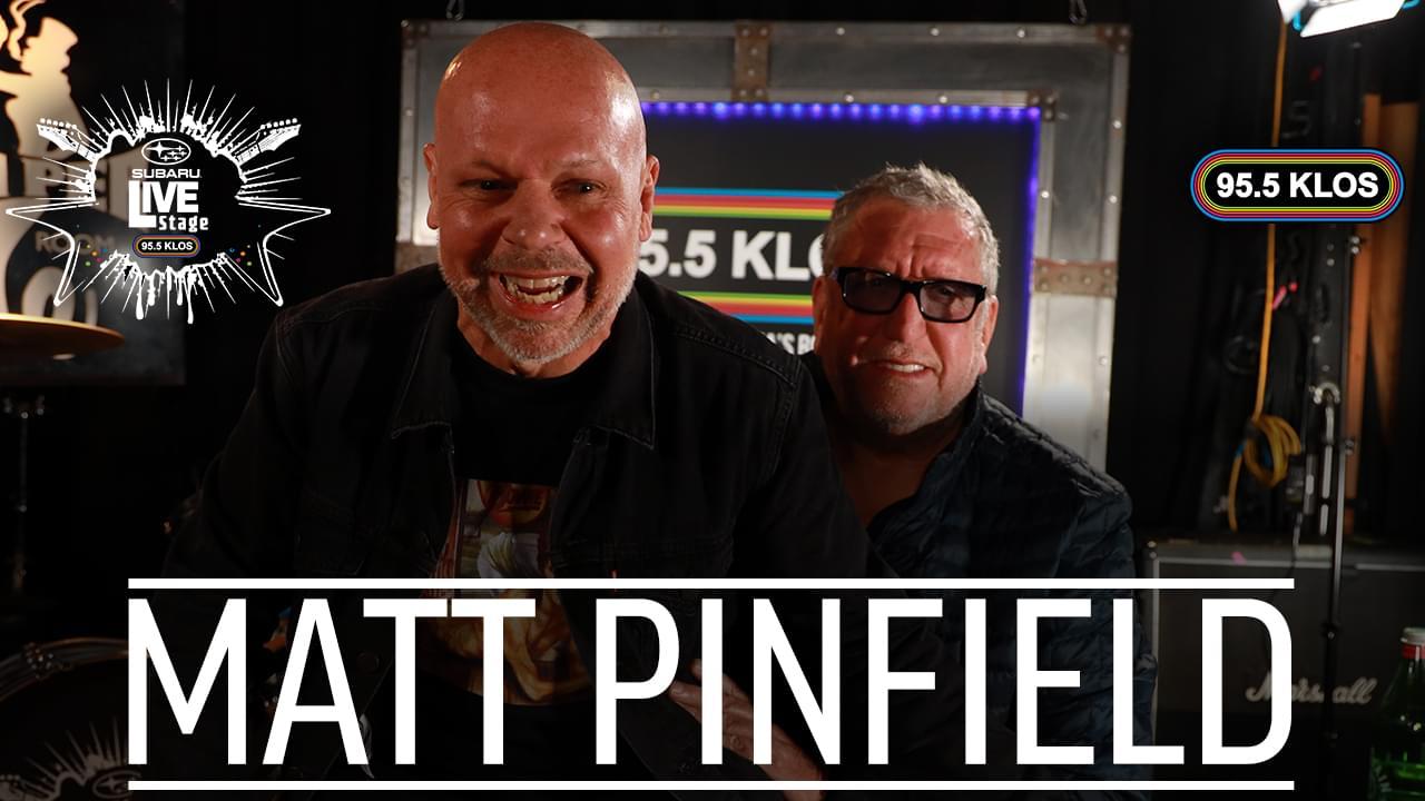 Steve Jones Interviewed By Special Guest Host Matt Pinfield on the KLOS Subaru Live Stage
