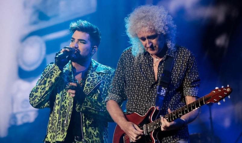 Queen Recreate 'Live Aid' Set at Fire Fight Australia Benefit
