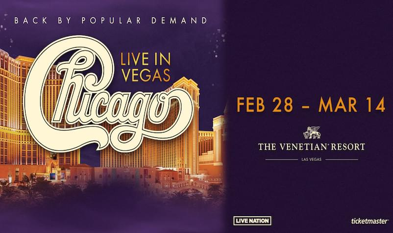 Tune in to Win Tickets to See Chicago in Vegas!