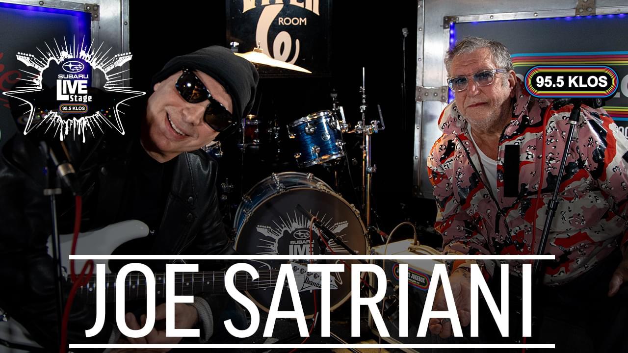 Joe Satriani on the KLOS Subaru Live Stage | Jonesy's Jukebox