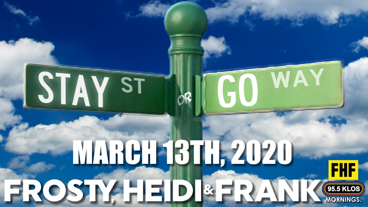 Stay Or Go on the FHF Show – March 13th, 2020