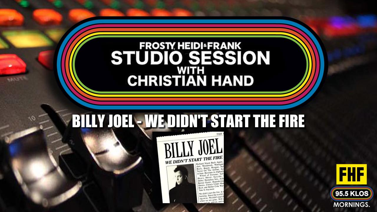 FHF Studio Session With Christian James Hand 3/16/20
